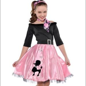 Other - 💥NIB Sock hop 1950's kids costume 🐩 poodle skirt